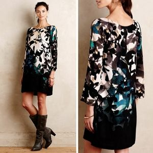 Anthropologie Shaded Garden Dress